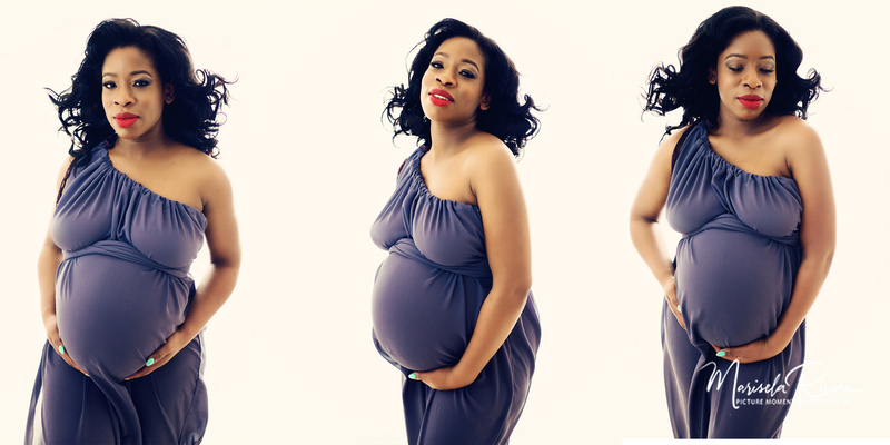 Studio Maternity Portrait
